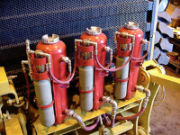 We offer sales, design and installation of Ansul fire suppression systems.