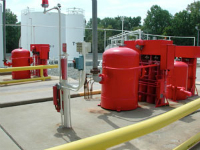 We design dry chemical fire suppression systems specific to each hazard.