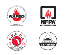 Iowa Fire is certified and associated with NICET, NAFED, NFPA and FFEDA.