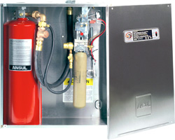 We offer installation, inspection and maintenance for wet chemical fire extinguishers.