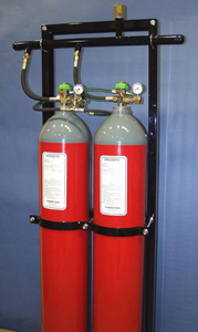 Iowa Fire Equipment Company offers inert gas fire suppression systems.